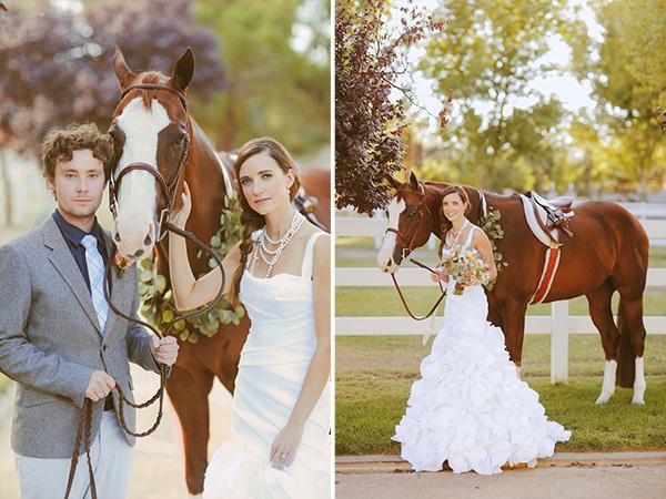Equestrian Wedding Inspiration Utah Wedding