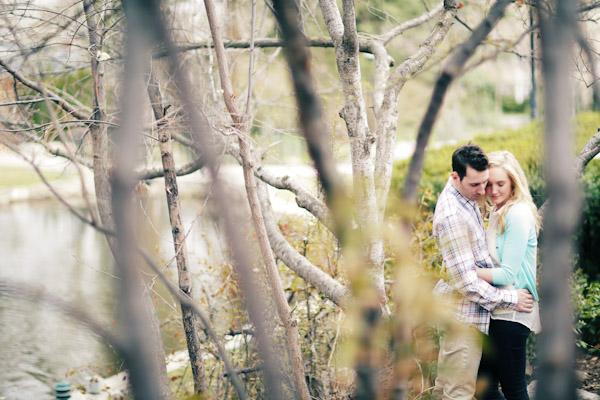 engagement photos at garden park ward