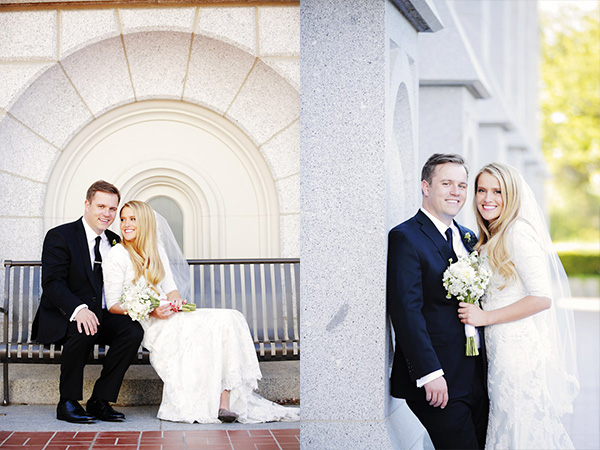 salt lake city temple wedding