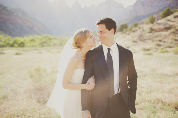 wedding in zion national park