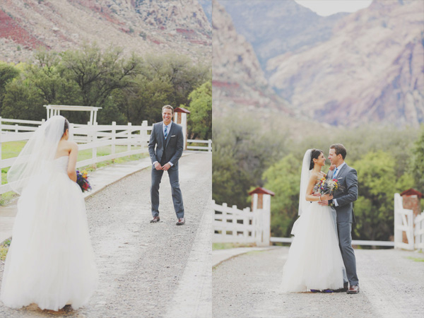 spring mountain ranch wedding