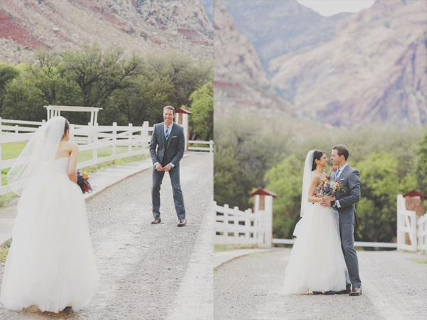 Spring Mountain Ranch Wedding
