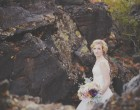lava rock wedding photos