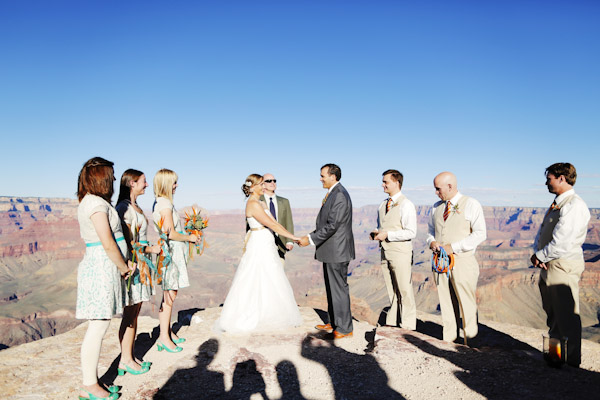 grand canyon wedding