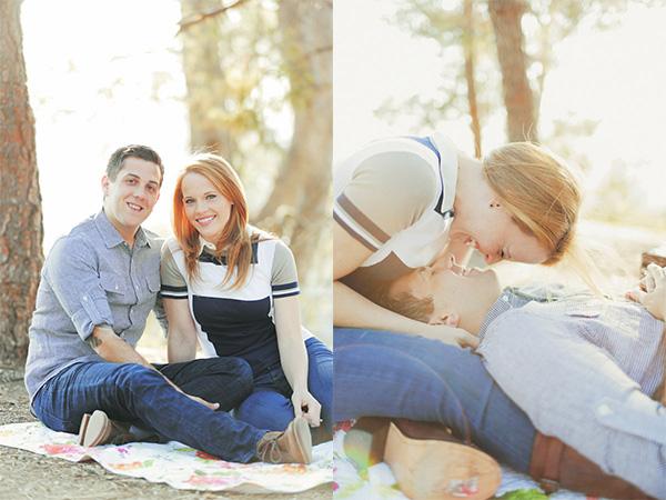 Katie Leclerc couple