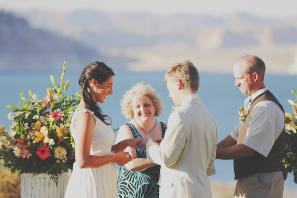 lake powell wedding