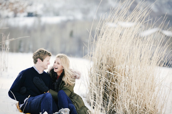 park city engagement, bridals, portraits at Mcpolin Farm in Park City