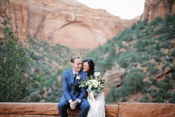 Zion National Park Pre Wedding Kaitlyn Sean