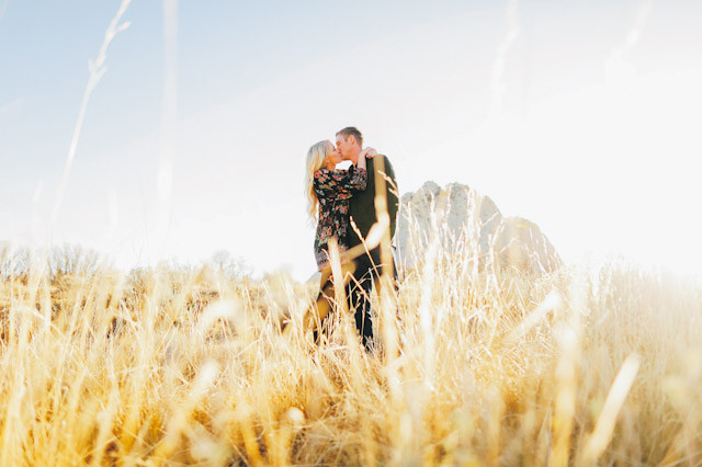 southern utah engagement photos