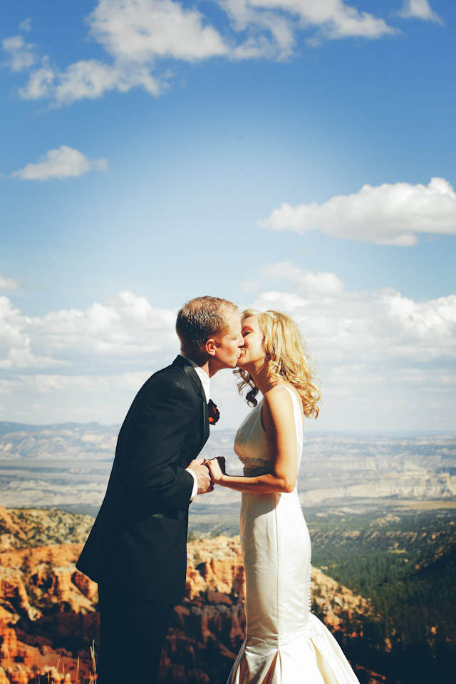 wedding at bryce canyon national park