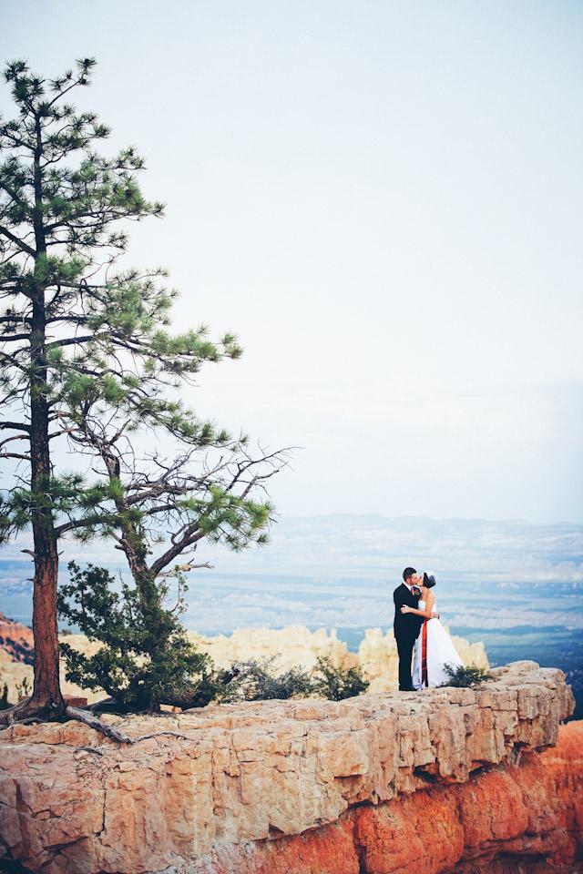 wedding at bryce canyon national park