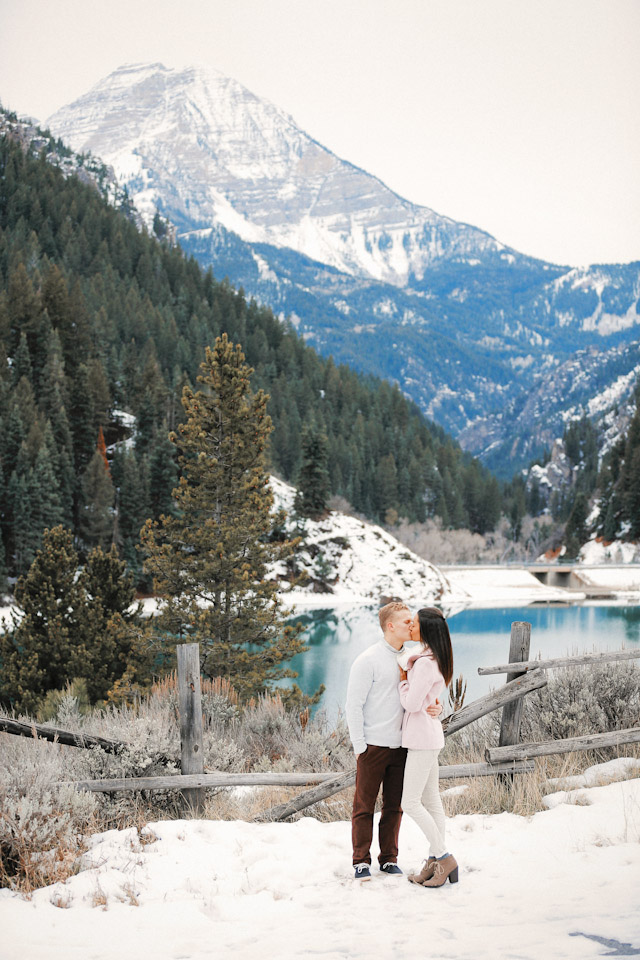 tibble fork winter engagement  carlie mickey