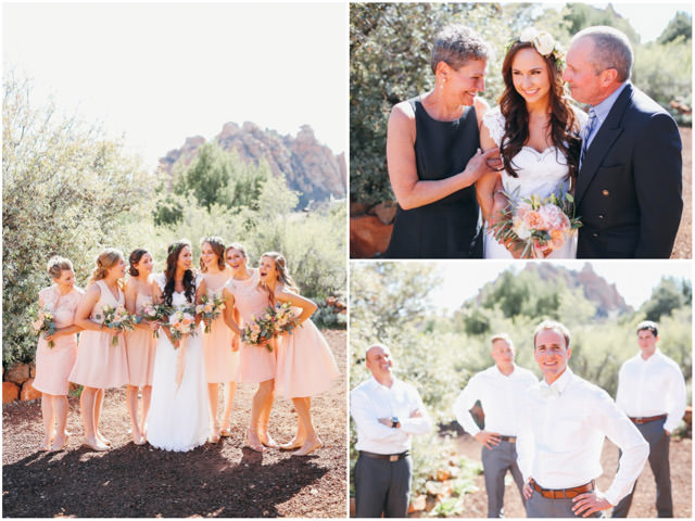 wedding in zion national park at true north