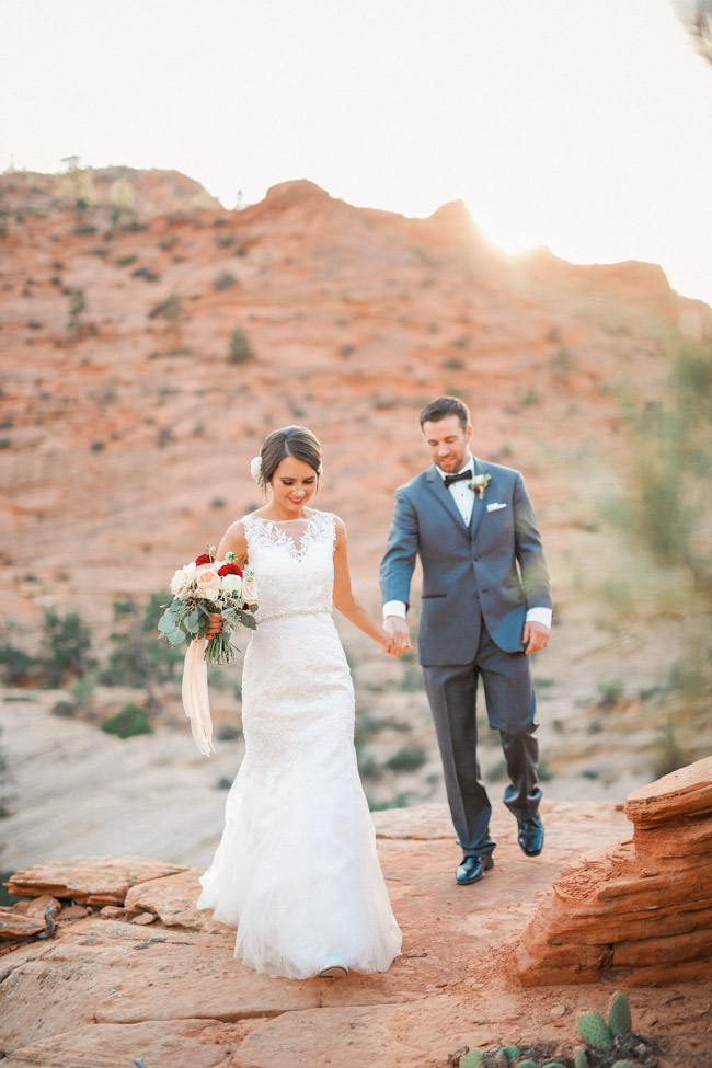 Zion National Park Wedding {Kelly+John}