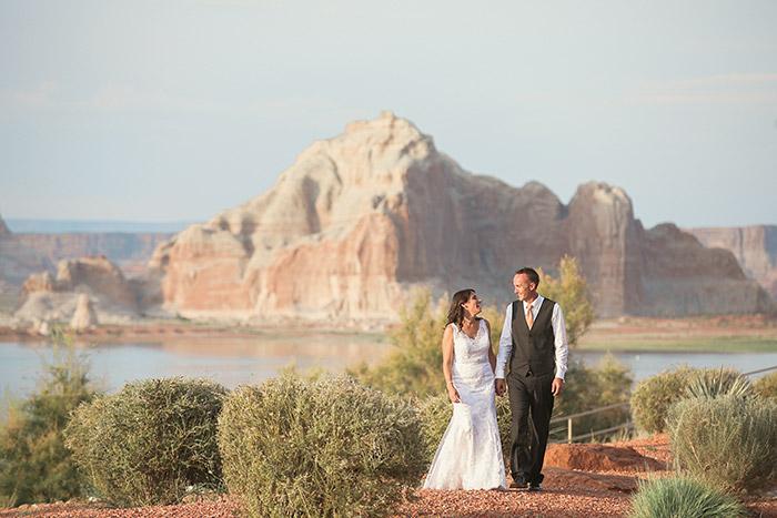 Lake Powell Wedding Jaime Jake