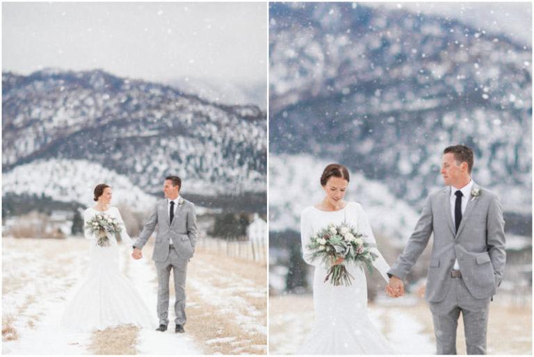 Pine Valley Snow Pre Wedding {Jaycee+Tyler} - Utah Wedding ...