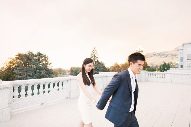 Utah State Capital Engagements Photos