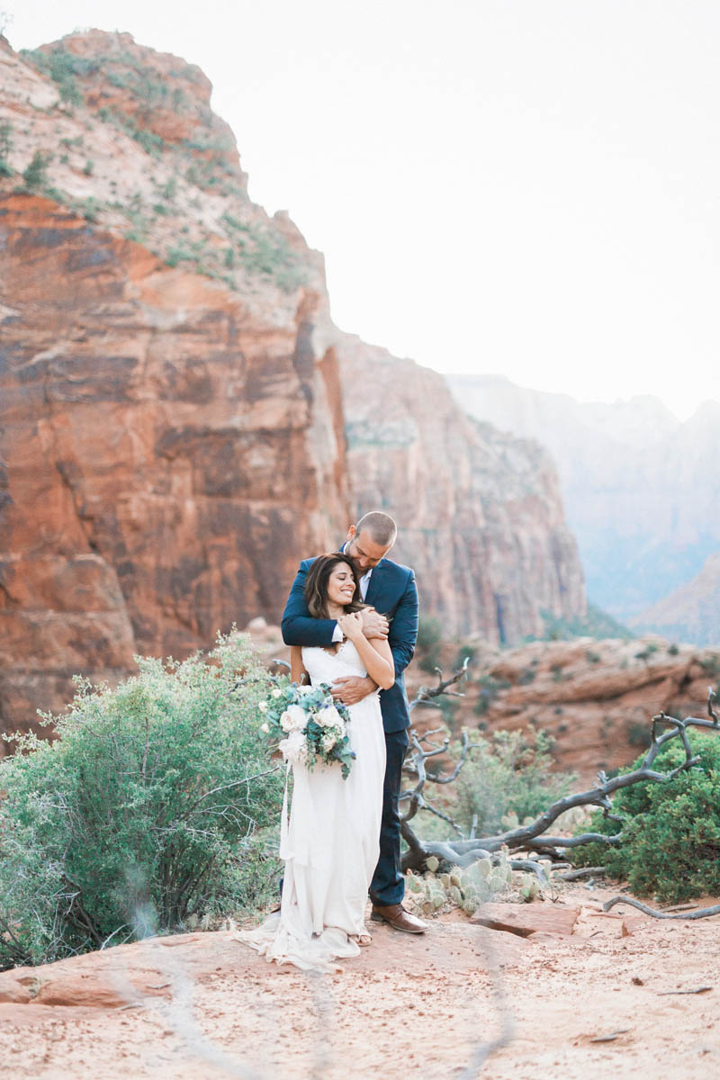 Zion Overlook wedding, zion wedding, zion, national park, wedding, zion national park wedding, utah wedding, southern utah wedding, photographer, photographers, photography, utah wedding photographer, zion wedding photographer, gideonphoto