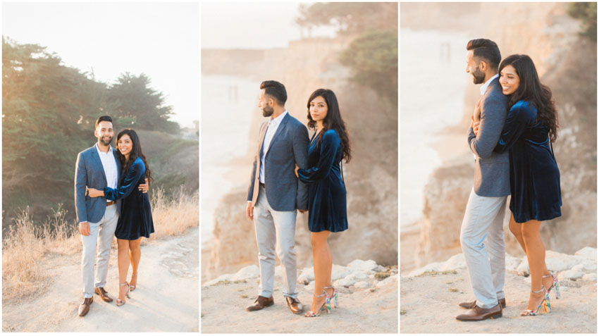 half moon bay engagement, half moon bay, engagement, bay area, san francisco, sutro, costal engagement, photography, photographer, california, beach, elopement, shark fin cove, northern california, pre wedding, wedding, engaged, photographers, wedding photographer, bay area wedding photographer, san francisco wedding photographer