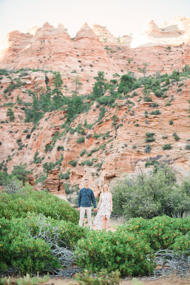 zion engagement, zion proposal, zion wedding photographer, zion photographer