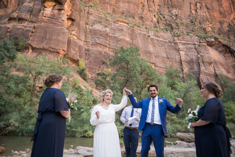 temple of sinawava elopement, temple of sinawava wedding, the narrows wedding, the narrows elopement, zion elopement, zion wedding
