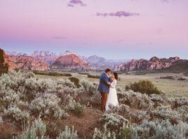 zion elopement, zion canyon overlook elopement, zion wedding, zion wedding photographer, eloping in zion