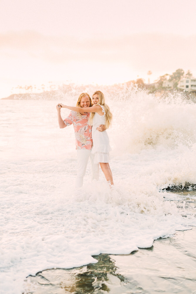 heisler park engagement, laguna beach engagement, laguna beach photographer